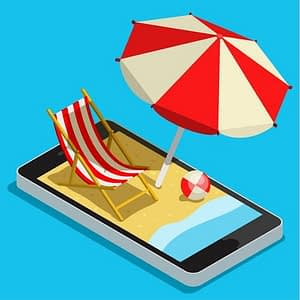Using your mobile on Holiday