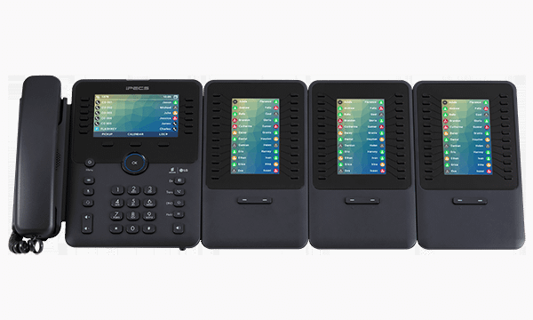 iPECS 1050i Desk Phone with 1048i LSS Expansion