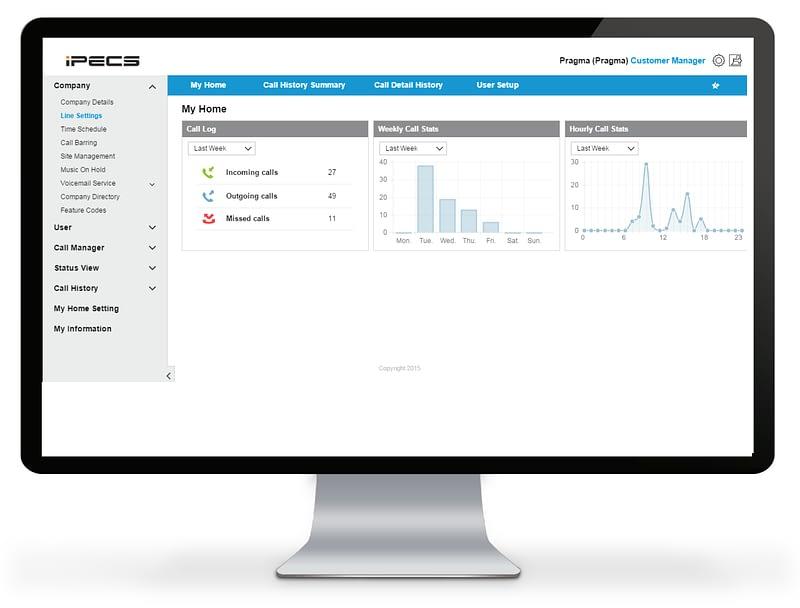iPECS Cloud Portal