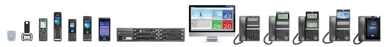 NEC SV9100 PBX, Phones & Handsets