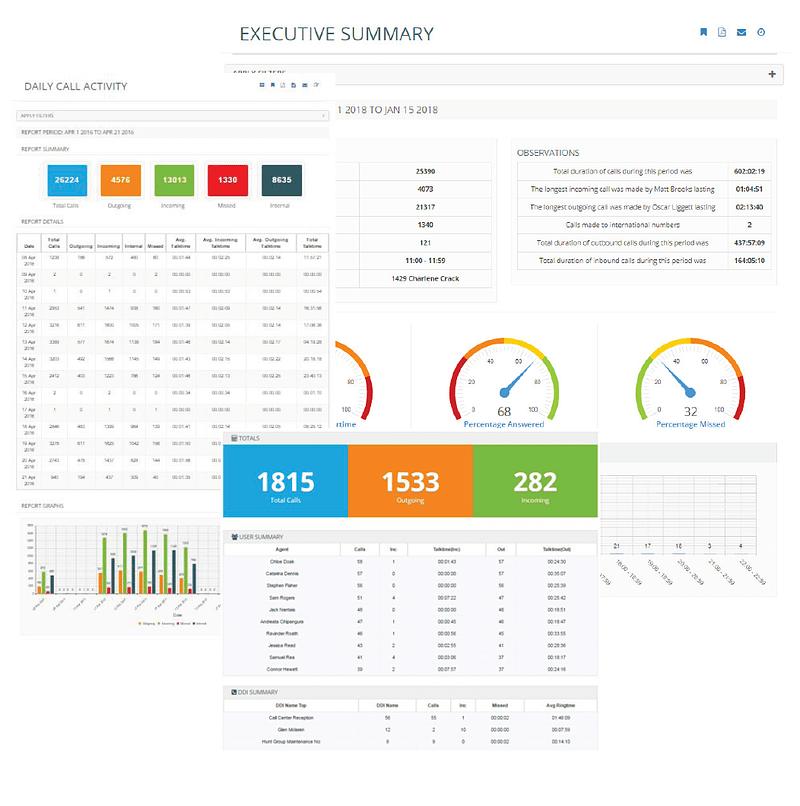 iPECS Cloud iCS Report