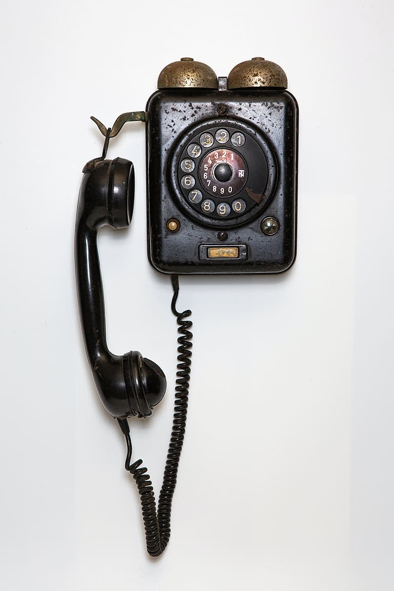 Old Phone - ISDN Switch Off